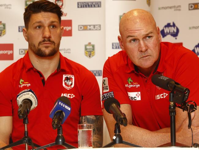 Gareth Widdop and coach Paul McGregor.