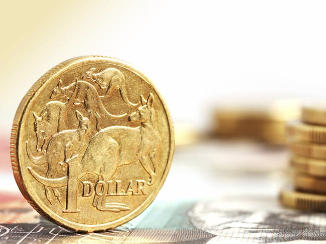 One Australian dollar is worth about 71.31 US cents right now.