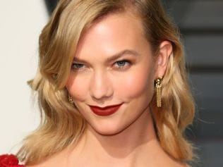 Karlie Kloss attends the 2017 Vanity Fair Oscar Party, Feb 26 2017 in Beverly Hills, California. Photo: JB Lacroix/Wire Image.