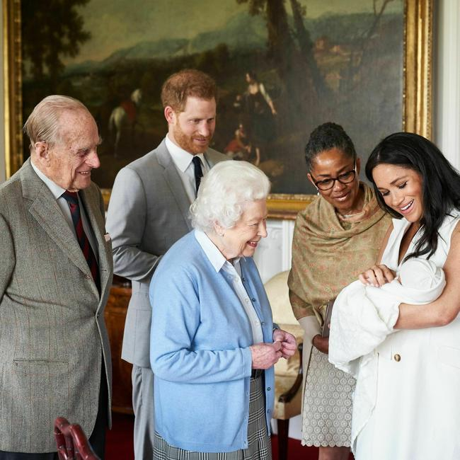This photo changes everything. Picture: Chris Allerton/ SussexRoyal via AP