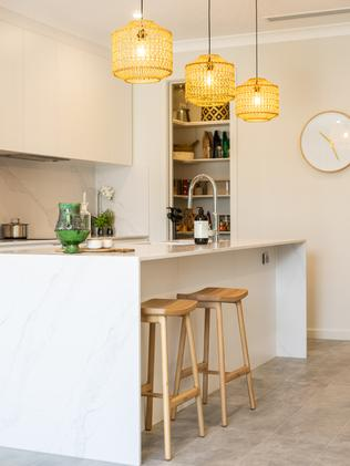 Statesman Homes' Brunswick townhouse design at Lightsview. Picture: Nick Clayton