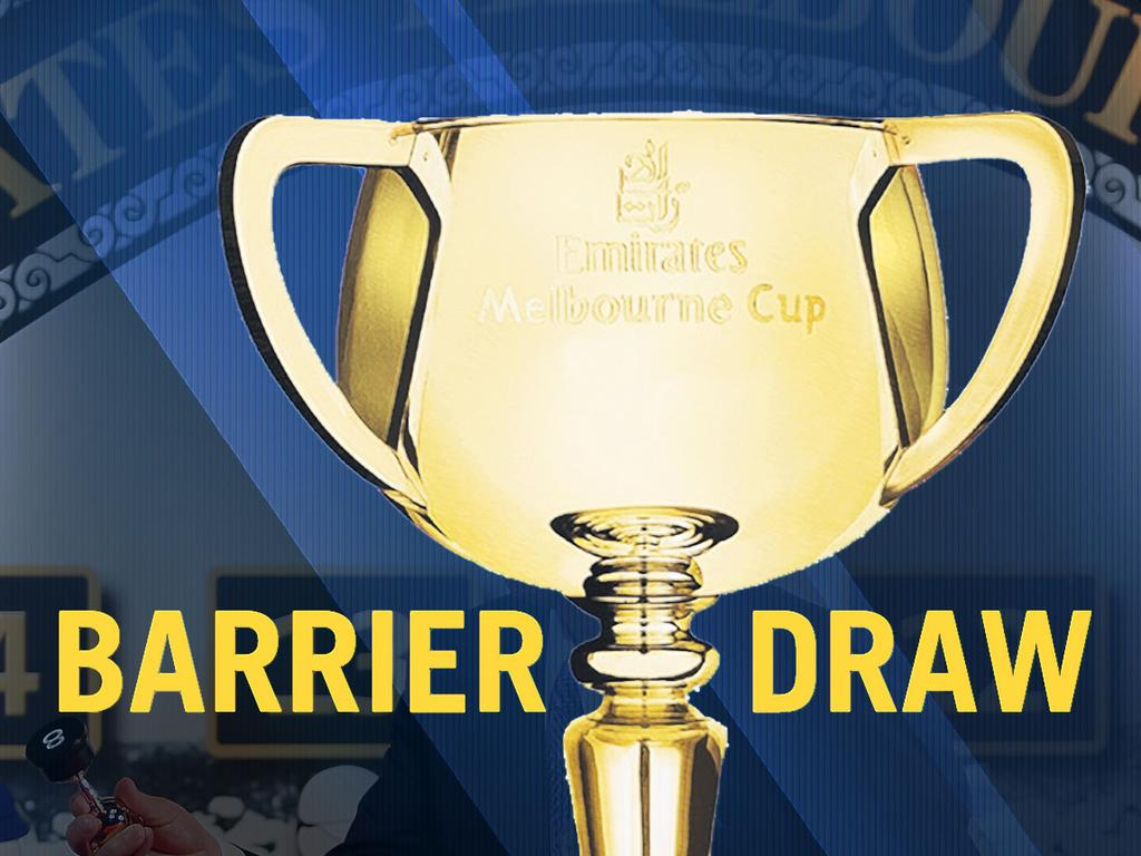 2020 Melbourne Cup barrier draw.