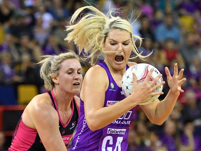 Gretel Tippett is one cool customer on the court. Picture: AAP