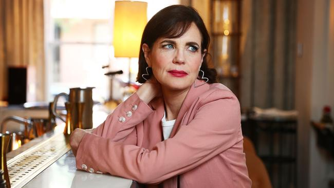 Elizabeth McGovern spoke of her frustration at some critics in the US over the film The Chaperone. Picture: John Feder