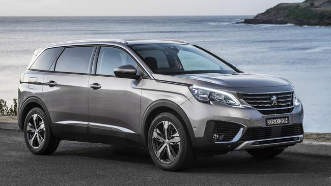 The Peugeot 5008 is sleek and stylish inside and out.