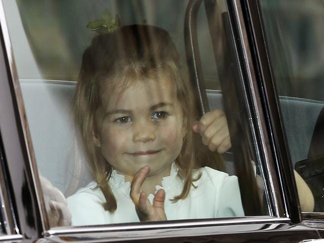 Isn't she lovely … Princess Charlotte of Cambridge. Picture: AFP