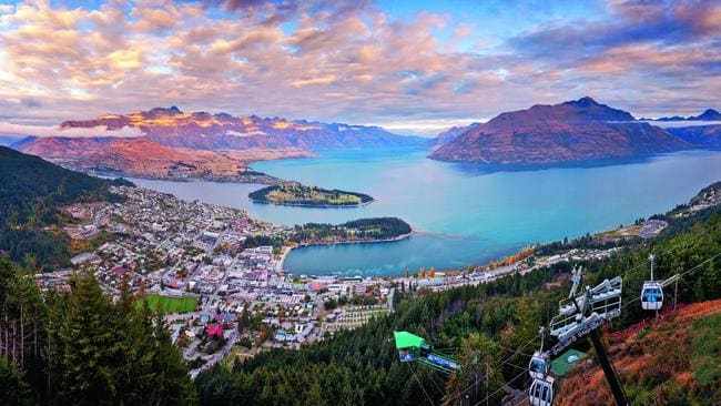 A woman has been fined for using shipping containers as Airbnb accommodation in Arthurs Point, a suburb of Queenstown (pictured). Picture: iStock