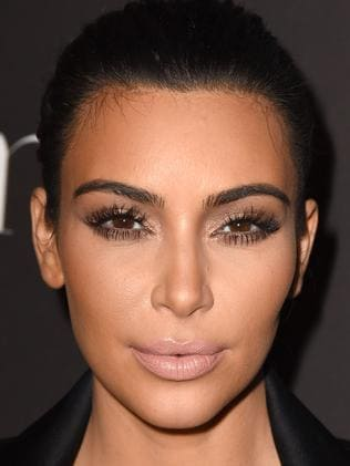 Kim Kardashian talks about her hairy forehead and North ...