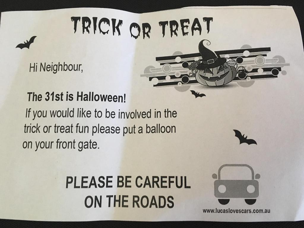 Francois Illas New Tradition: Halloween: Mailbox Letter Could Stop Or Welcome Rick Or
