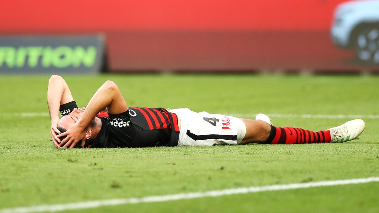 A chance to stay top of the A-League went begging for the Wanderers