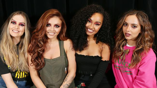 Jesy (second from right) was subjected to intense scrutiny over her appearance during her early years in Little Mix. Picture Andrew Tauber