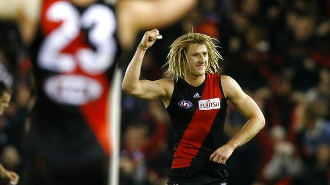 Dyson Heppell was immense for Essendon. Picture: Wayne Ludbey