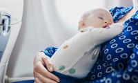 Top health and safety rules to remember when flying with a baby