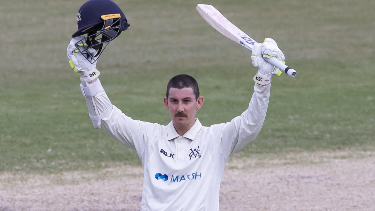 Nic Maddinson hasn't played a Test match since 2016, but continues to show national selectors why he deserves a recall at the expense of Joe Burns.