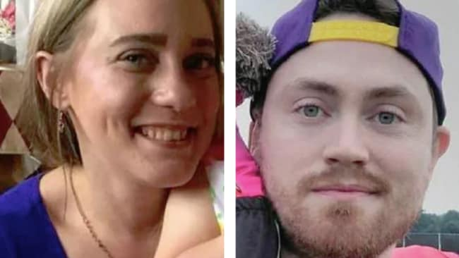 Allison King and Patrick Cushing died in the crash. Picture: Facebook Source: Supplied