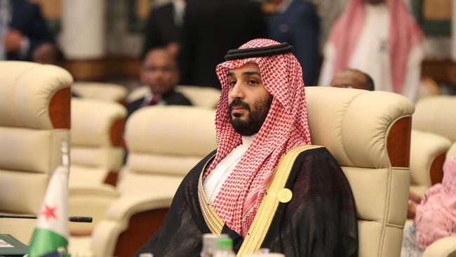 Saudi Arabia's Crown Prince accused Iran of showing disrespect. Picture: AFP