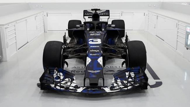 The Aston Martin-Red Bull Racing-TAG Heuer RB14 has been revealed.