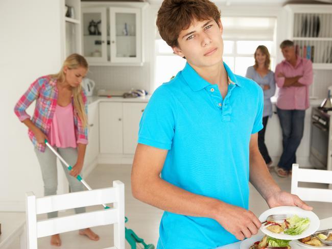 Make them do housework.