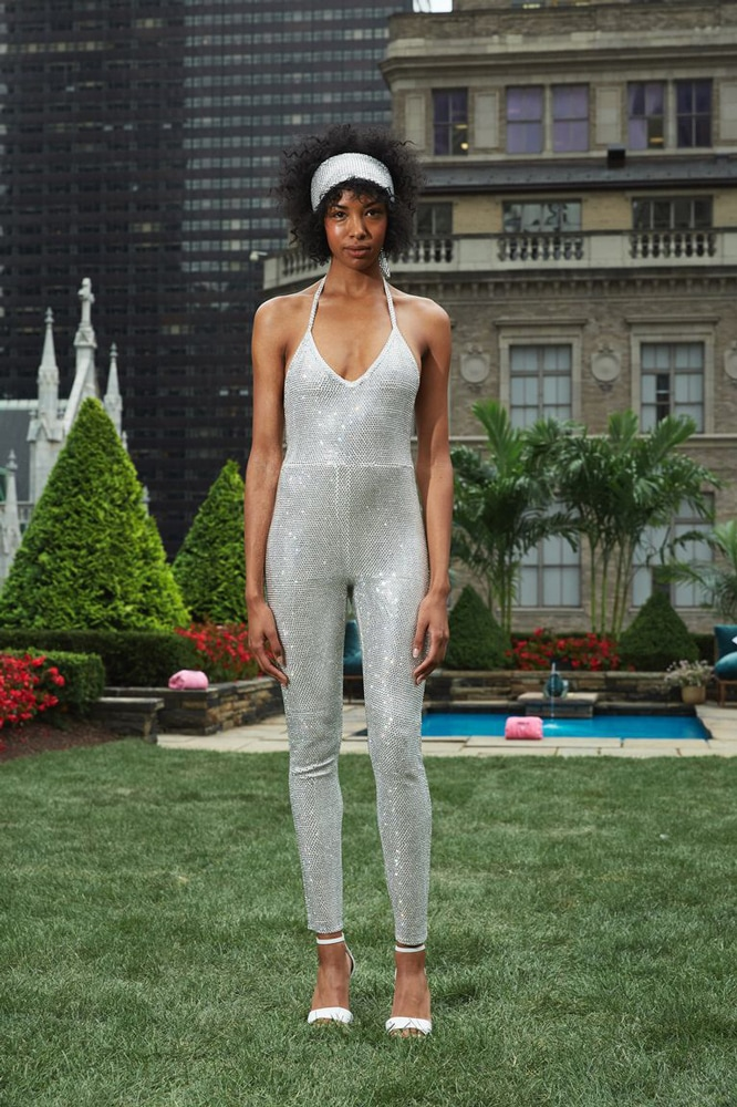 The Swarovski crystal-covered onesie by Juicy Couture. Image credit: Juicy Couture.