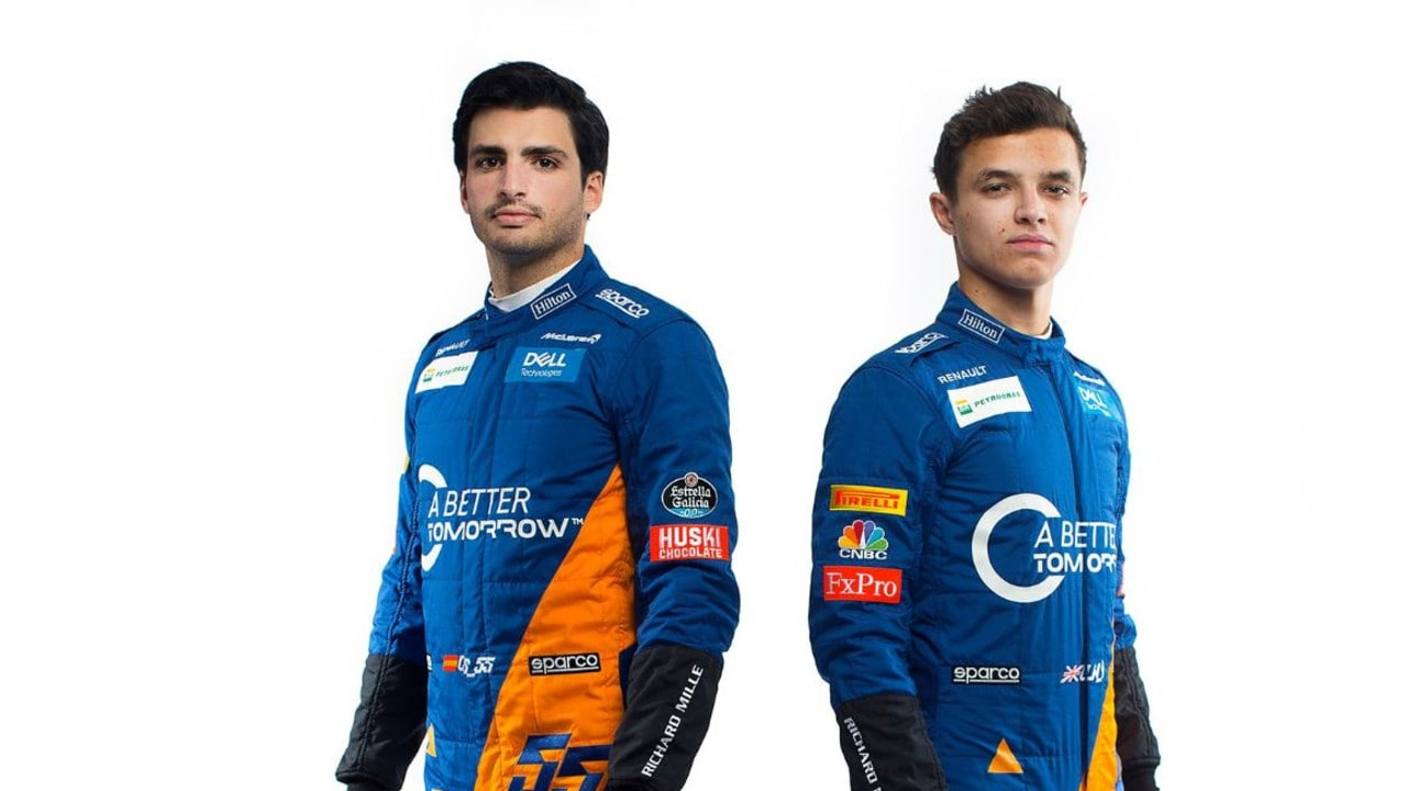 Carlos Sainz and Lando Norris are ready to take McLaren back to where they belong.