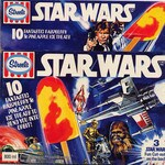 Star Wars ice blocks from the late '70s. Picture: Star Wars Collectors Archive