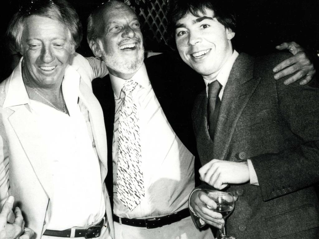 Robert Stigwood, Harold Prince i Andrew Lloyd Webber.