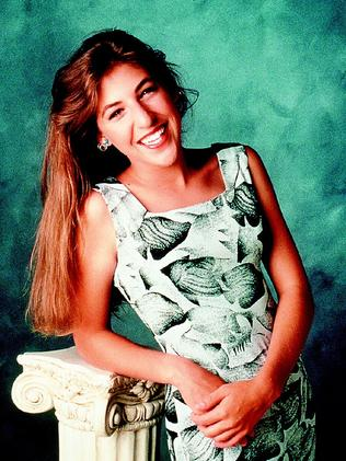Mayim Bialik in TV show Blossom.