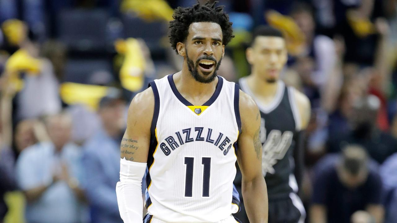 Mike Conley's start to his time in Utah hasn't been amazing.