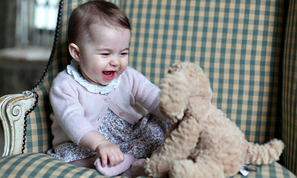 New photos of Princess Charlotte to celebrate her birthday
