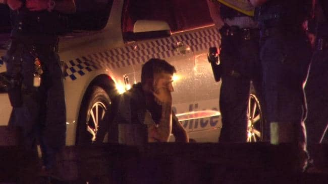 Thornton was taken to hospital for mandatory blood and alcohol testsing. Picture: TNV