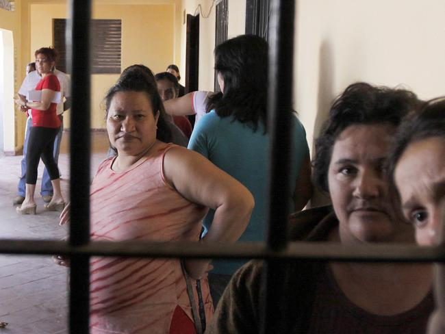 The Buen Pastor prison is said to be chronically overcrowded. Picture: Reuters