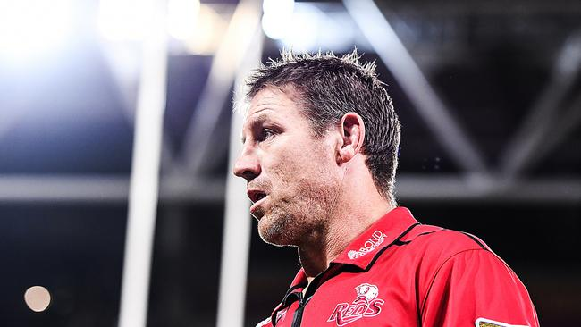 Reds coach Brad Thorn thinks rugby referees have lost the plot.