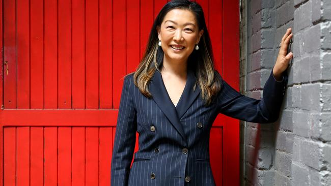 Julia Lee has nearly two decades experience with the Aussie share market. Picture By Ryan Osland.