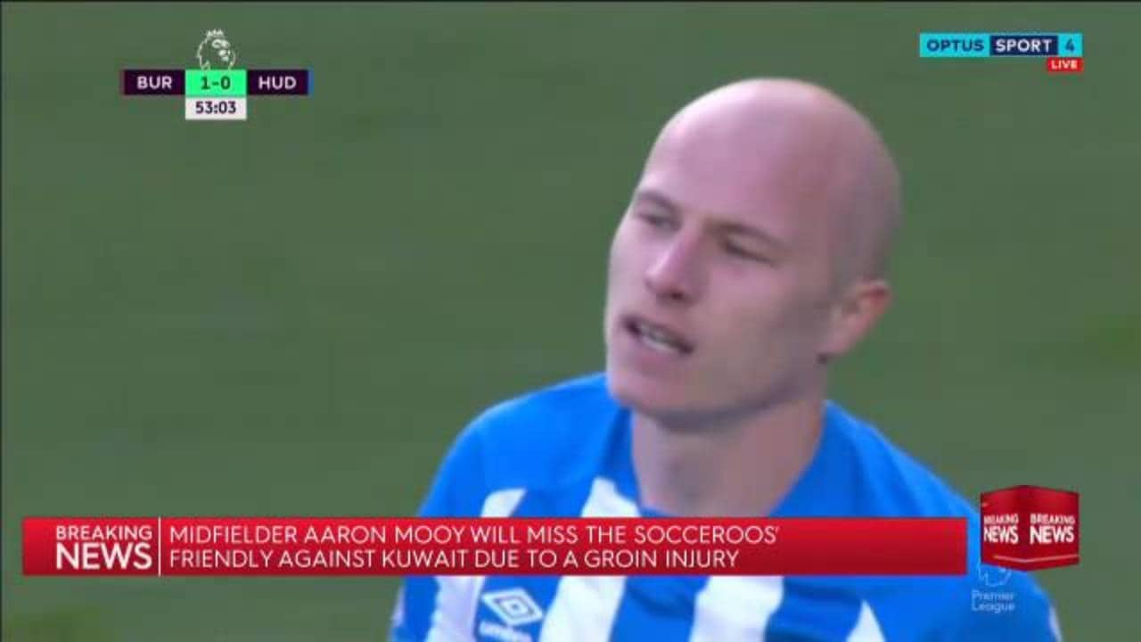 Mooy out of Socceroos squad