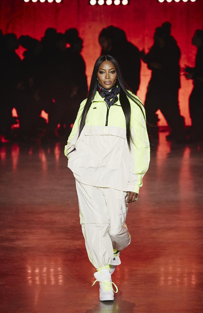 She opened the show, wearing an outfit from the brand's TOMMYNOW line. Picture: Getty Images for Tommy Hilfiger