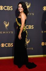 Julia Louis-Dreyfus ttends the 69th Annual Primetime Emmy Awards at Microsoft Theater on September 17, 2017 in Los Angeles. Picture: Getty