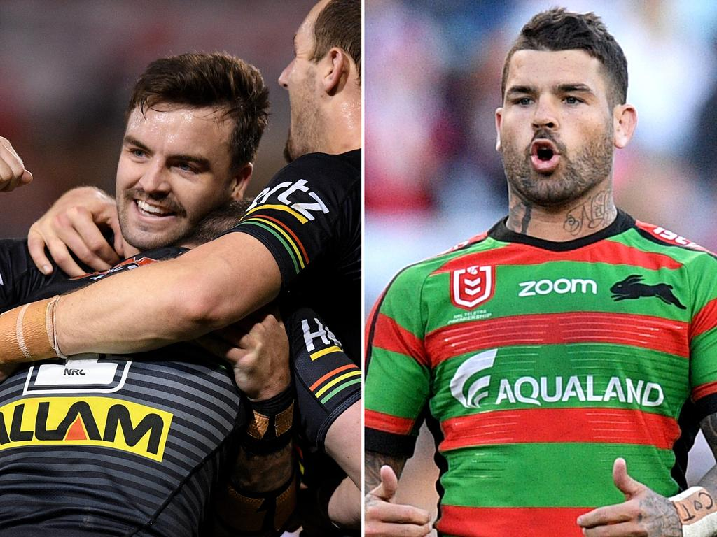The Panthers are flying while South Sydney have struggled through the Origin period.