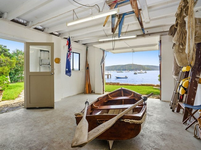 This traditional boat house is still being used for its original purpose. Picture: Supplied