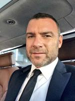 "Behind The Scenes Emmy Awards 2014... Actor Liev Schreiber, ""On my way to see Jon get his Emmy... "" Picture: Twitter"