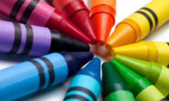 Turn old crayons into candles