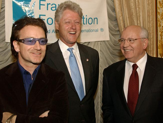 Bill Clinton was brilliant at finding a middle way, even if he had to go through Bono and Mikhail Gorbachev to get to it.