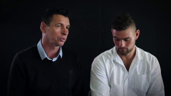 Mitch and Chris Grigg emotional MND interview