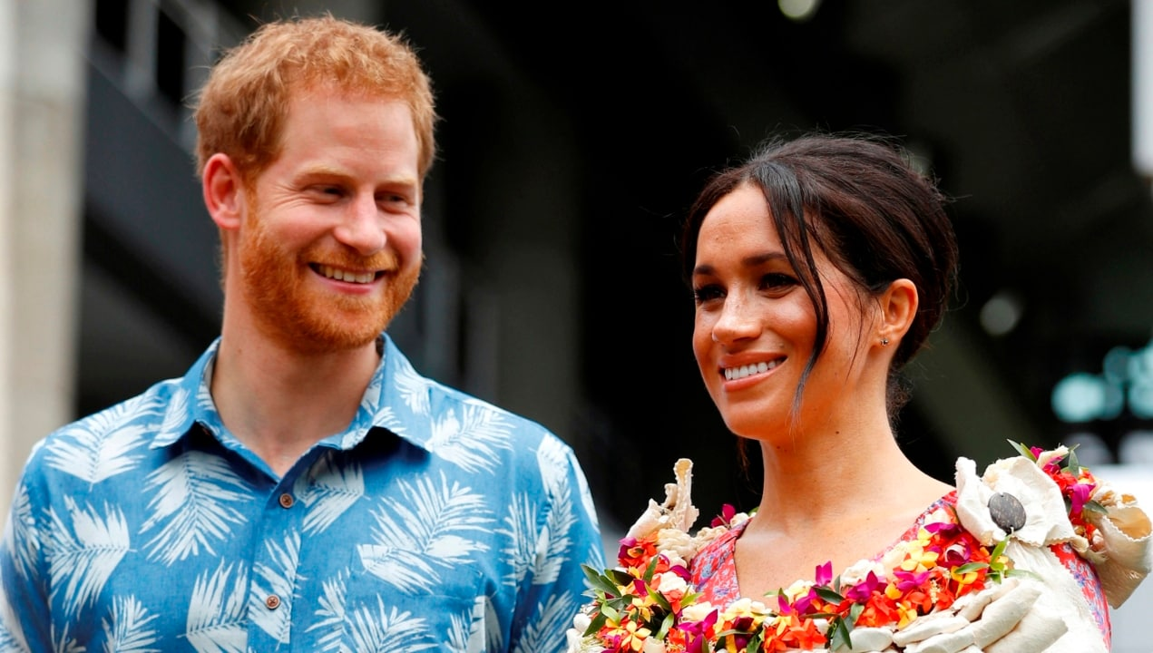 Duke and Duchess of Sussex to continue tour in Tonga