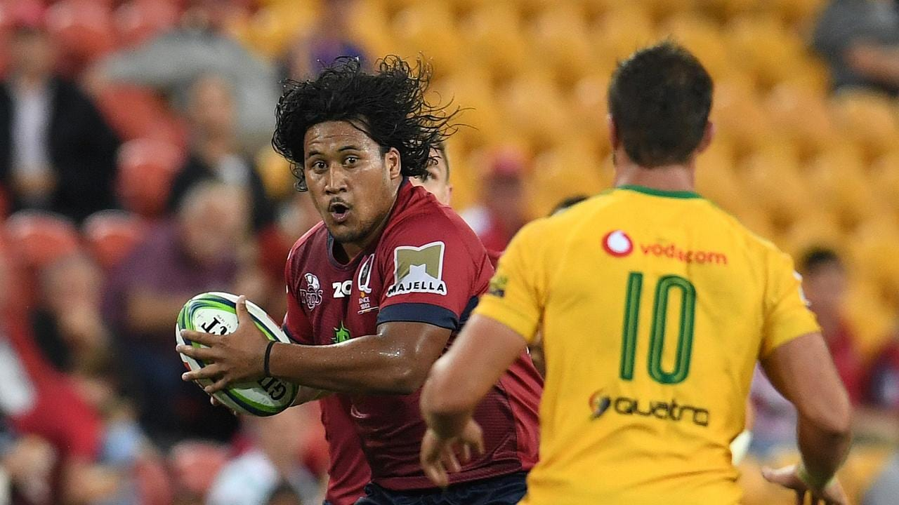 Brandon Paenga-Amosa is one of five uncapped players in Michael Cheika's squad.