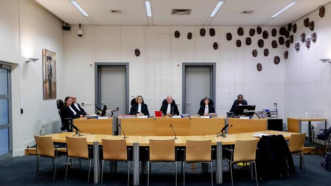 A preliminary hearing into the case was held in Assen, in the northern part of the Netherlands, this week. Picture: AFP/ANP/Robin Van Lonkhuijsen
