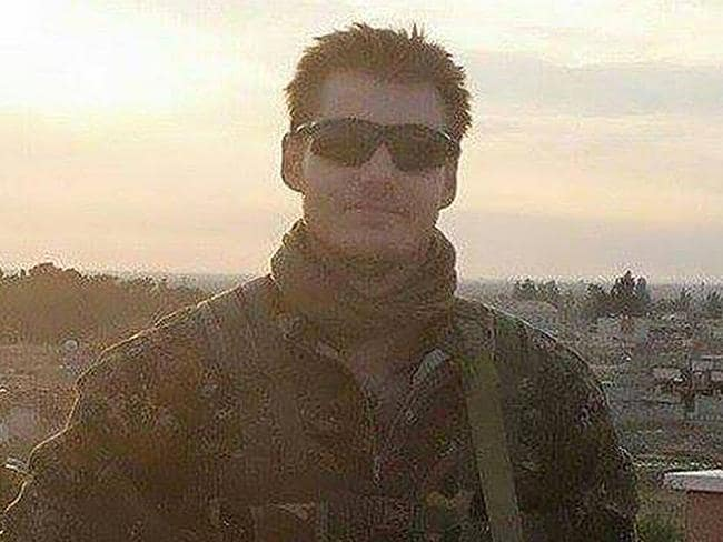 Life lost ... Ashley Johnston, killed while fighting against ISIS. Picture: Facebook