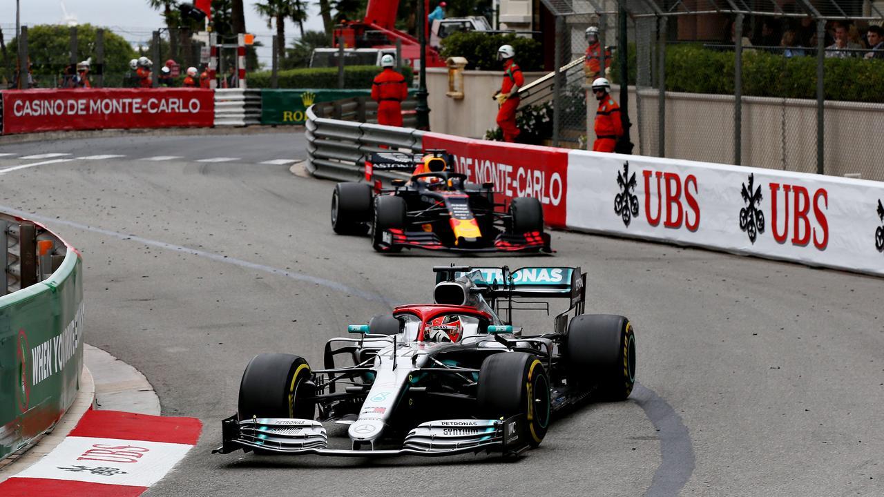 Hamilton was marginalized by Max Verstappen.