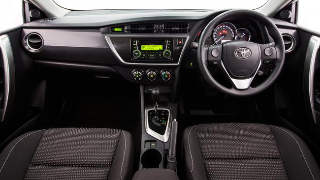 Ascent interior: The constantly variable transmission can take some getting used to.