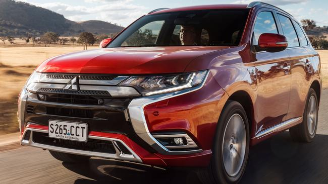 The Outlander PHEV was the world's first plug-in hybrid SUV.