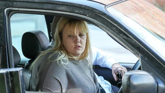 Lucy's mum Stacey White has spoken about the horrifying moment she discovered what had happened to her 13-year-old daughter. Picture: Andrew Matthews/PA Wire